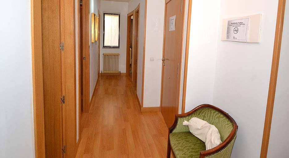 Pasillo del apartamento